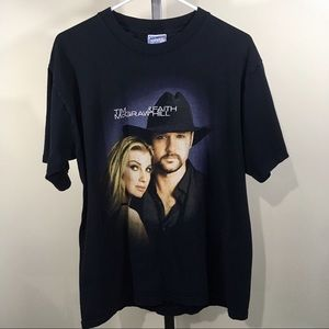 Tim McGraw & Faith Hill US Soul 2 Soul Shirt Large